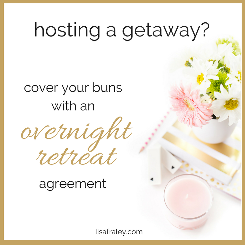 Overnight Retreat agreement