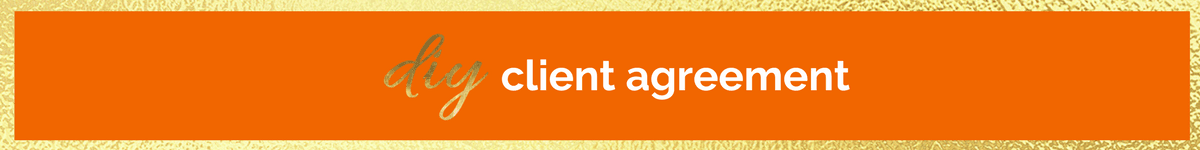 Diy Client Agreement Lisa Fraley