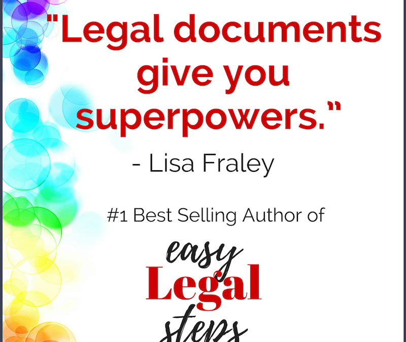 Legal documents give you superpowers (book released TOMORROW!)