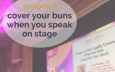 [Podcast] Cover your buns when you speak on stage