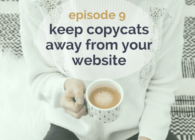 Keep copycats away from your website