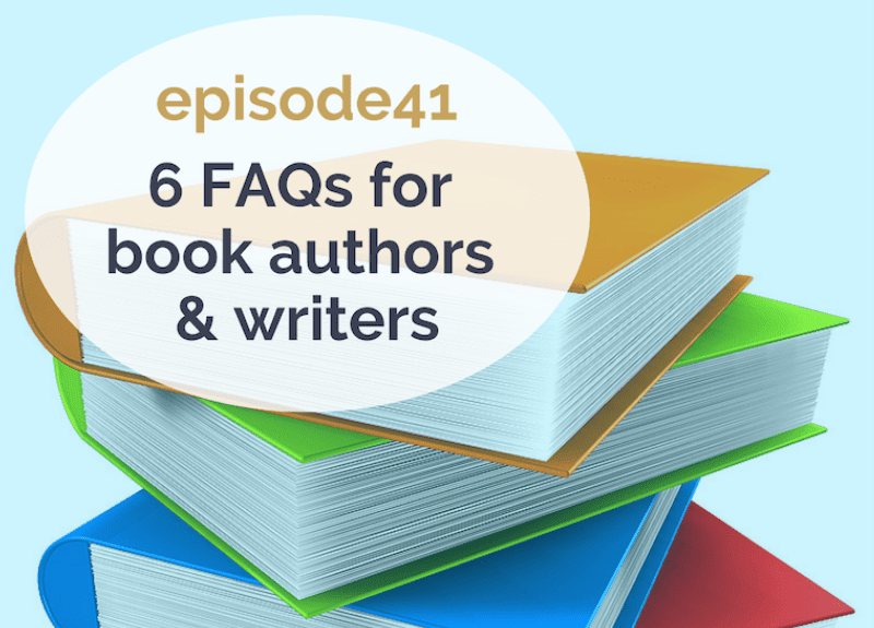 Legal FAQs for book authors & writers