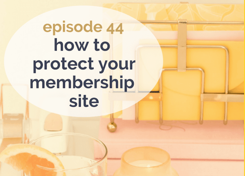 How to protect your membership site