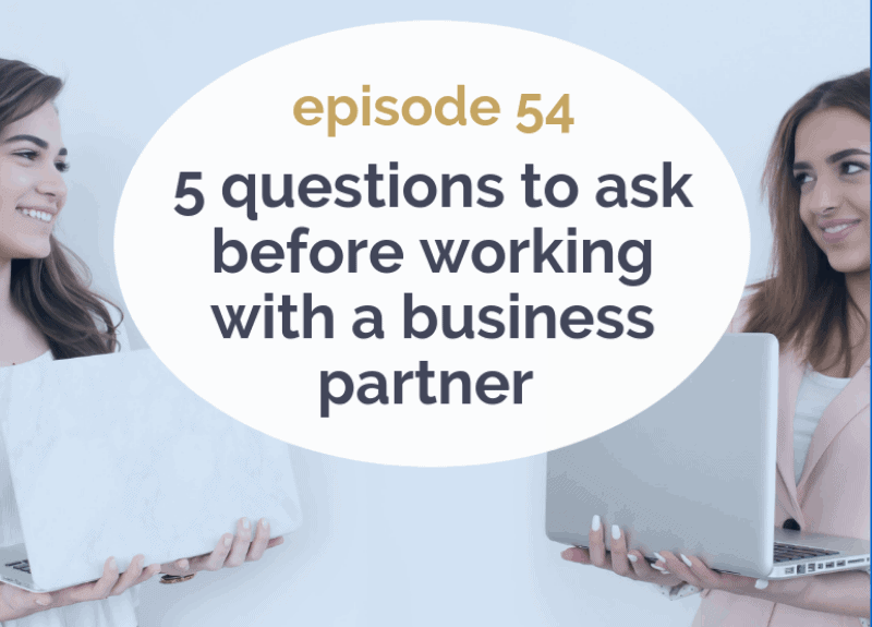 5 questions to ask before working with a business partner