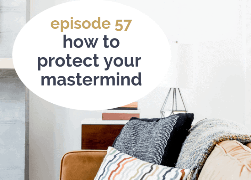 How to protect your mastermind