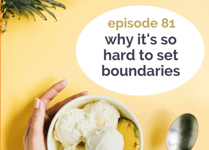 Why it's so hard to set boundaries