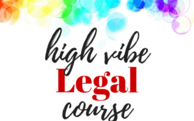 Last chance to enroll in the High Vibe Legal Course