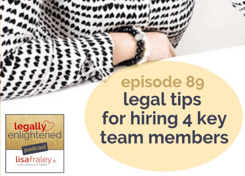 New Zealand & legal tips for hiring 4 key team members