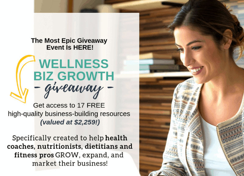 Grow your Wellness Biz with these specially curated gifts (and get your free Mini-Disclaimer!)