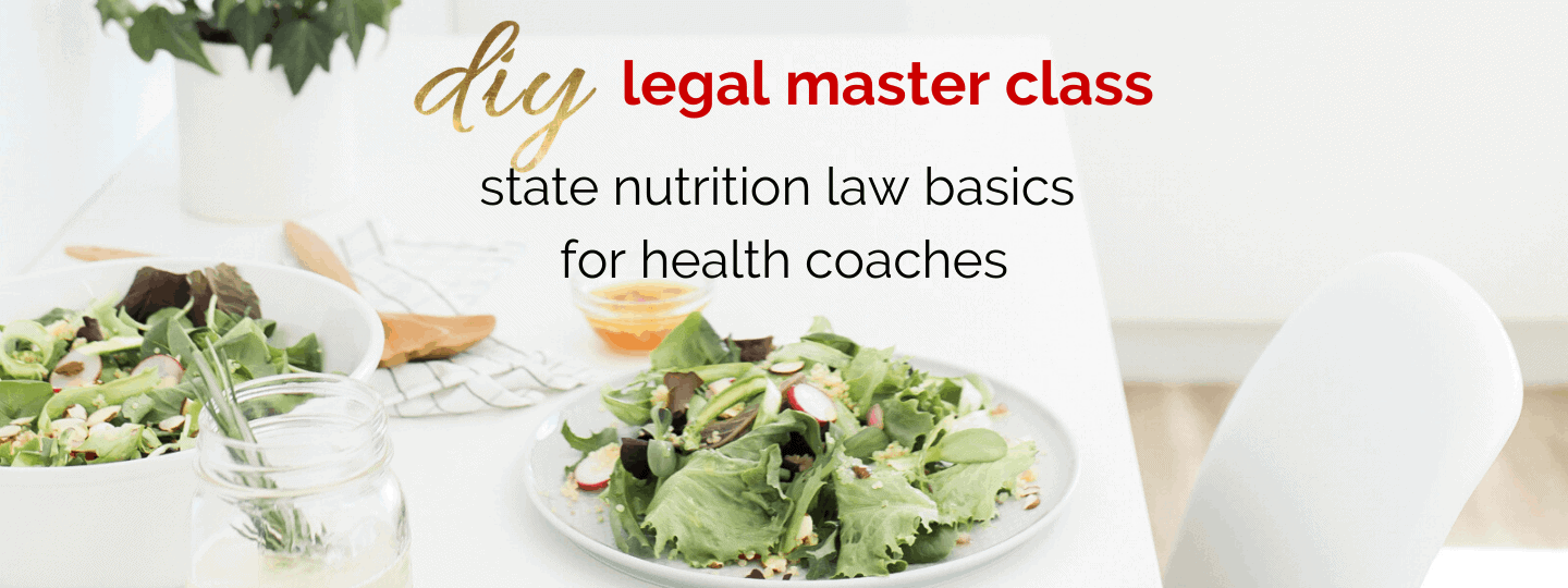 State Law Basics for Health Coaches
