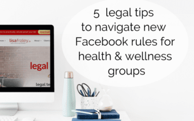 New Facebook rules for health & wellness groups