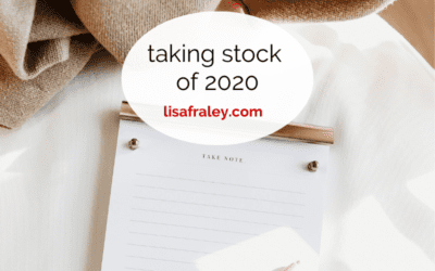 Taking Stock of 2020 – What I'm Feeling Proud & Grateful For…