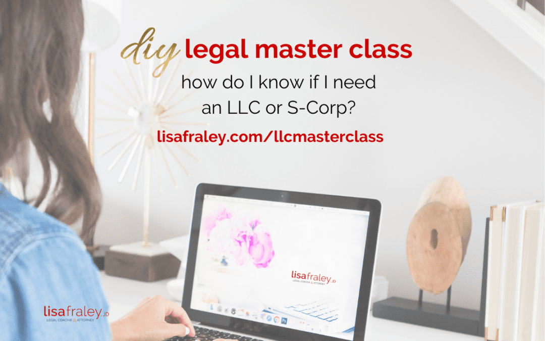 Wondering if an LLC or S-Corp is right for you? Start here.