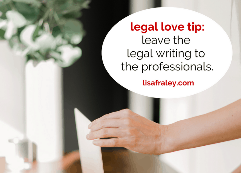 3 reasons why you should leave the legal writing to the professionals